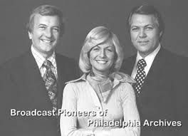Mort Crim, Jessica Savitch  and Vince Leonard - KYW -TV3 - The Philly news my parents watched