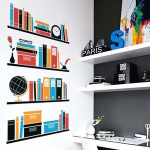 My Bookshelf Wall Sticker
