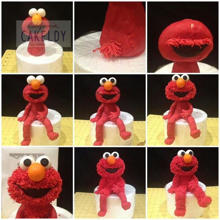 16 best elmo b day images on Pinterest Elmo cake 2nd birthday