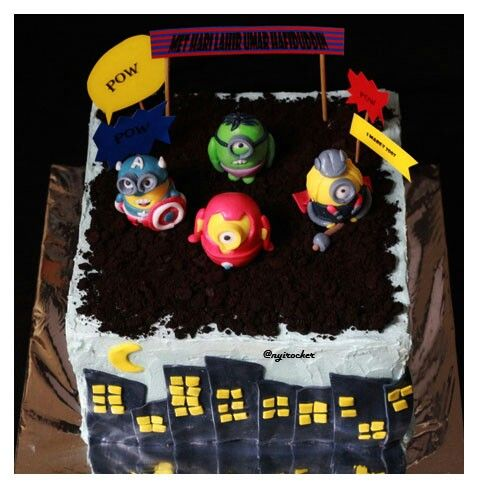 21 best Marcos birthday cake images on Pinterest Batman party