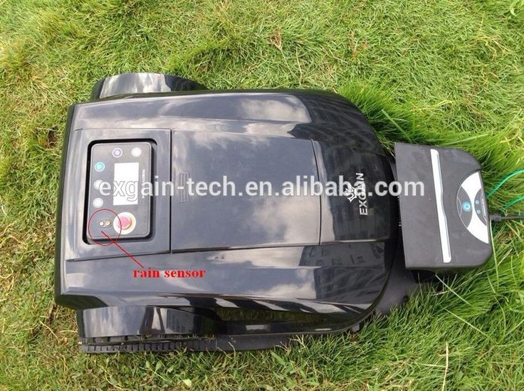 Mini remote control lawn mower for sale, S520 with adjustable cutting height