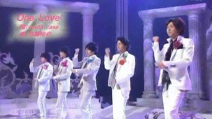 松本潤・井上真央共演映画「花より男子F(ファイナル)」の主題歌 嵐が歌うOne LoveのGIF動画 created by COCO
