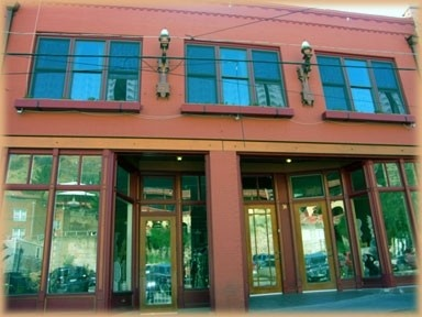 The Bisbee Loft is upstairs a historic commercial building downtown Old Bisbee.