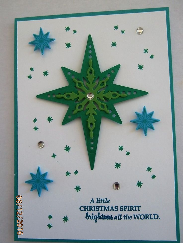 Star of Light bundle Stampin Up Holiday
