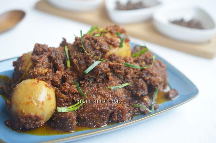 Diah Didi's Kitchen: Rendang Ala Diah Didi's Kitchen