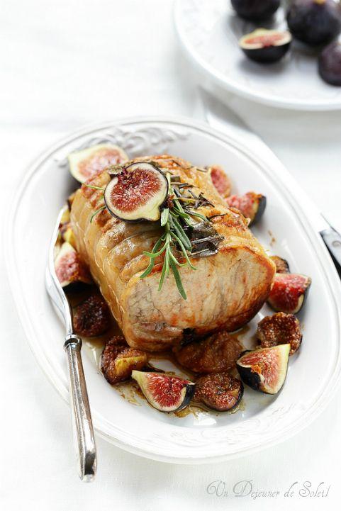 Rôti de porc aux figues (et conseils de cuisson)