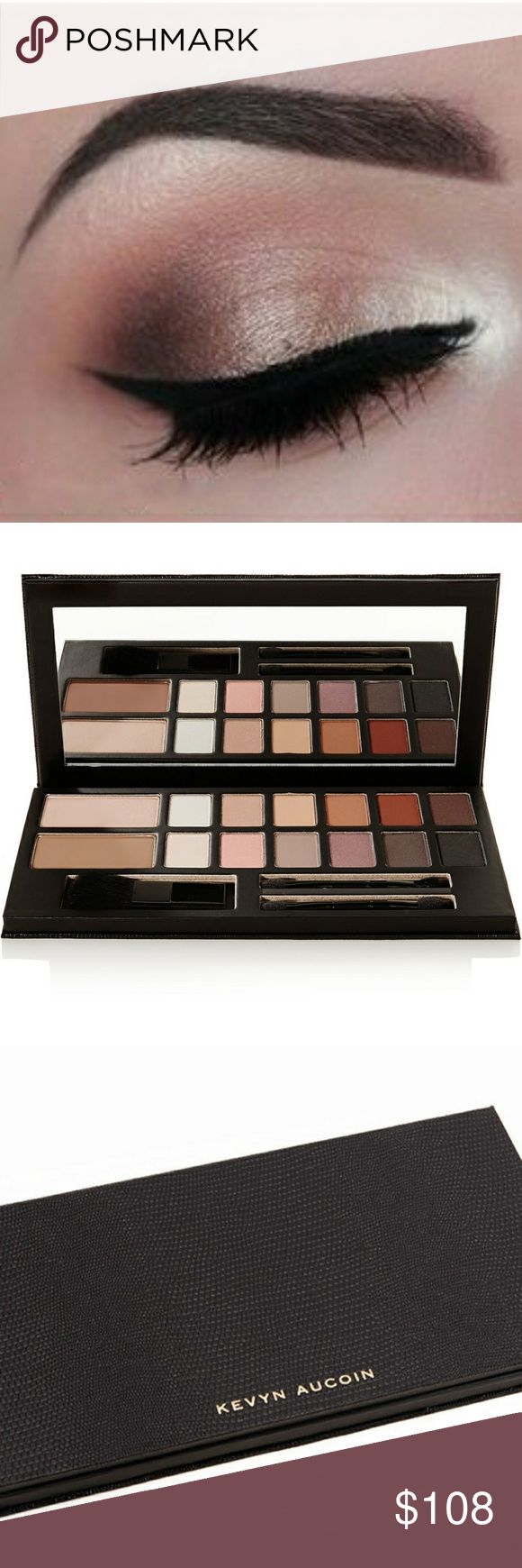🔶HOST PICK🔶Kevyn Aucoin The Legacy Palette An exclusive palette that includes classic essentials for sculpting, highlighting, and defining face, eyes, and brows. Use the Sculpting and Celestial powder to accentuate your natural beauty. Then define eyes with 12 classic eyeshadow shades. Stunning pigmentation, universal shades, pleasantly stable consistency and classy packaging!   This is a stunning purchase, and an investment for any serious makeup artist or beauty addict who loves high-end…