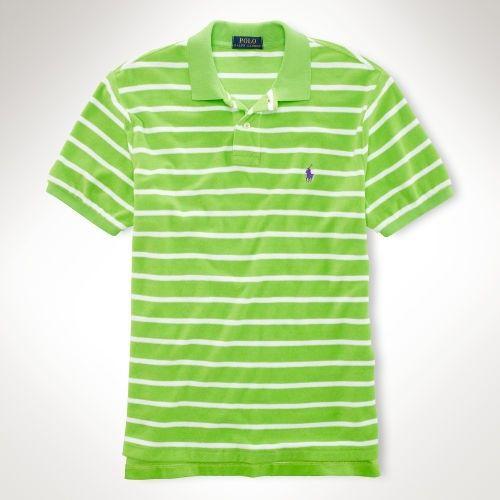 best cheap 778d1 83ba1 ralph lauren raphael lauren, Men - Custom-Fit Striped Terry ...