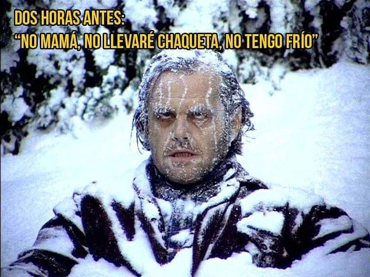 El frio es psicológico !! #memes #chistes #chistesmalos #imagenesgraciosas #humor http://www.megamemeces.com/memeces/imagenes-de-humor-vs-videos-divertidos                                                                                                                                                                                 Más