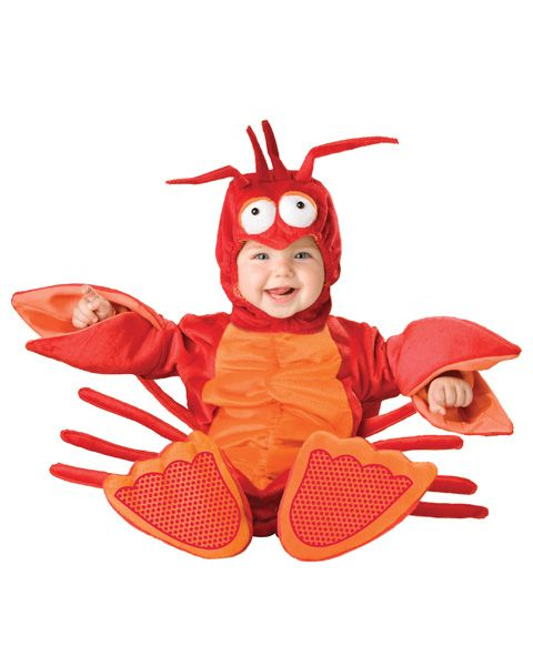 good baby costume for the crawfish festival! infant lobster crayfish costumes