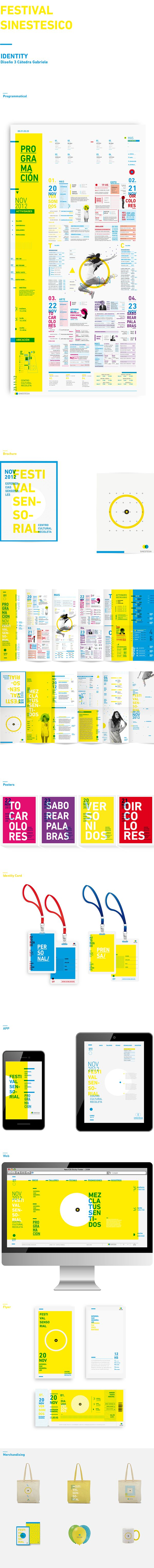 Sinestesia Festival Identity on Behance
