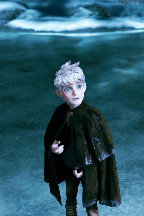 The Moon tells Jack Frost who he is.  (...)  Funny--the same thing happened in Sailor Moon.  Coincidence? ;P