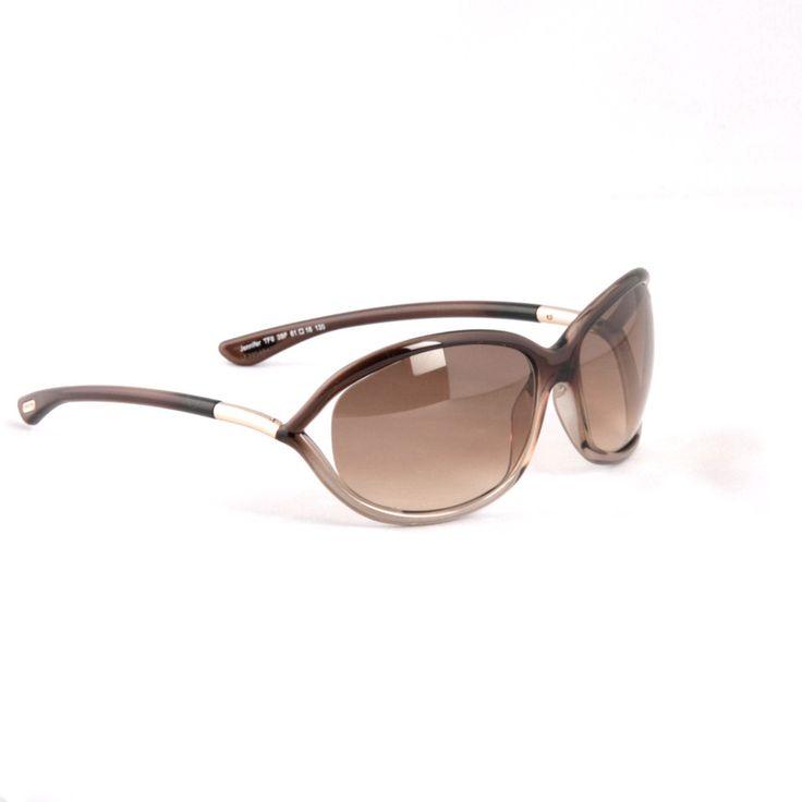 TOM FORD -Jennifer FT008 38F BROWN GRADIENT Sunglasses