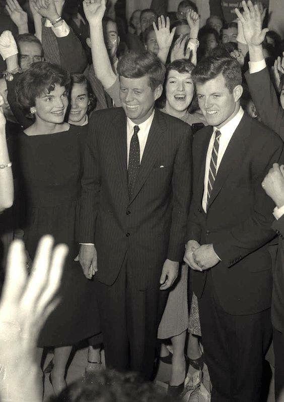 Jackie, JFK & Ted Kennedy