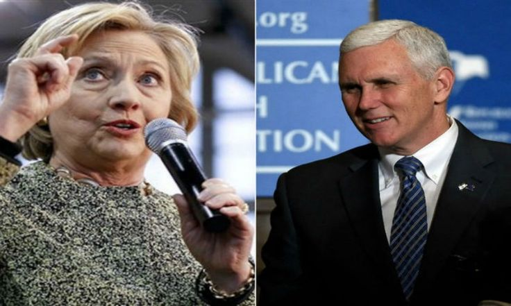 Mike Pence, Donald Trump's vice president choice and Indiana Governor, spoke for Breitbart News about Hillary Clinton and called out the DNC nominee,