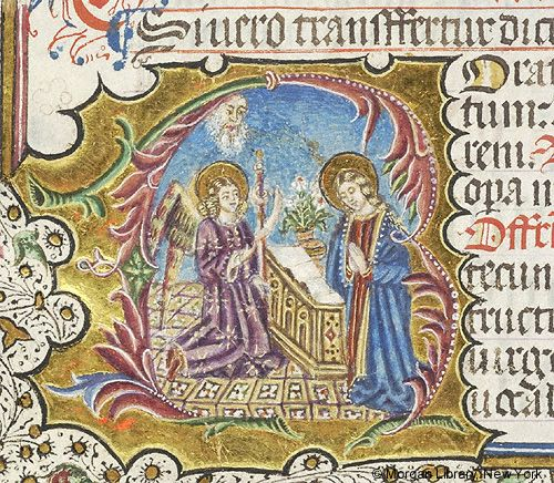 Missal, M.450 fol. 116v - Images from Medieval and Renaissance Manuscripts - The Morgan Library & Museum
