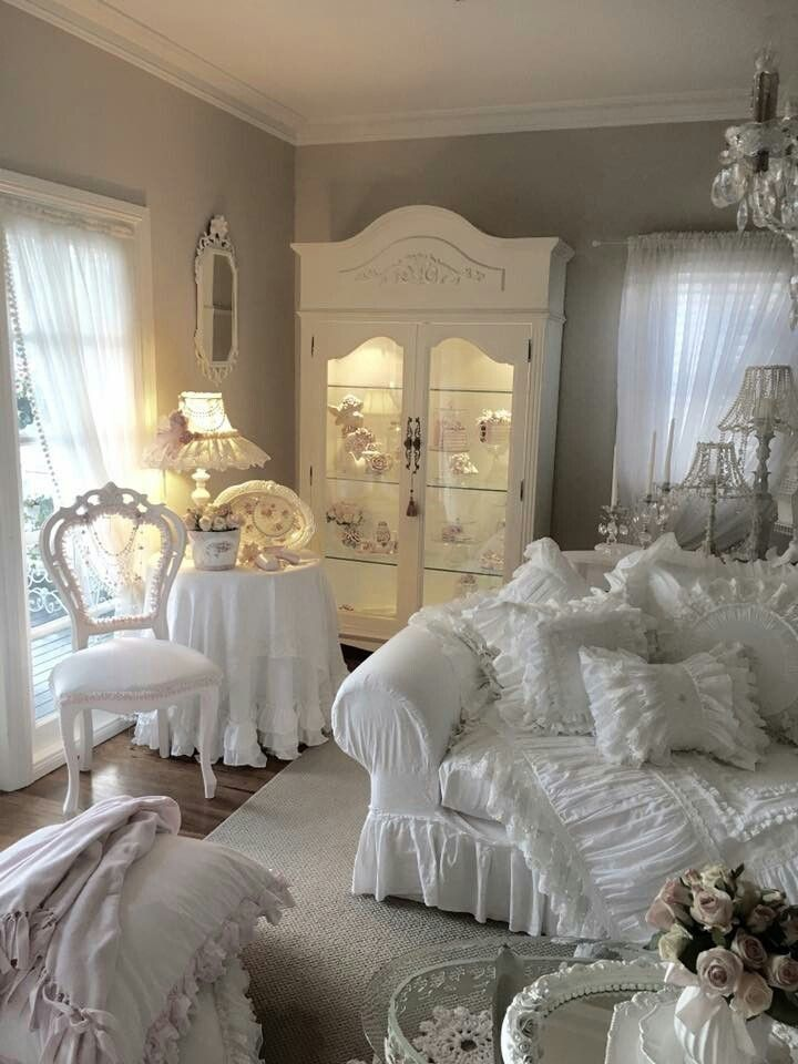 Shabby Chic Schlafzimmer Dekorationen Schlafzimmerideen