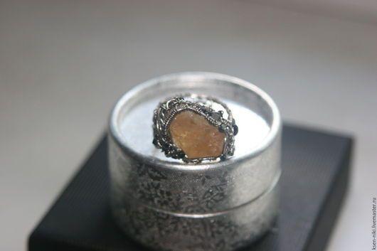 """кольцо """"Цитрин..."""" Handmade."""