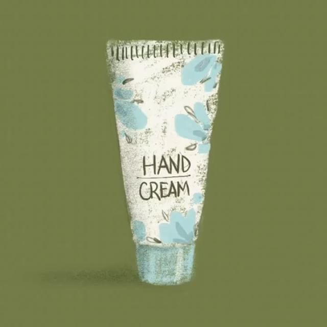 No. 2: I grabbed the first object I could see on my desk, hand cream! Have to admit, I probably wasted 20 seconds in total looking back at the stop watch every few seconds. This is going to take some getting use to!  #illustration #texturelove #procreate #art #dailysketch #dailydrawing #sketch #5minutedrawing #drawingchallenge #havefuncreating #drawforfun