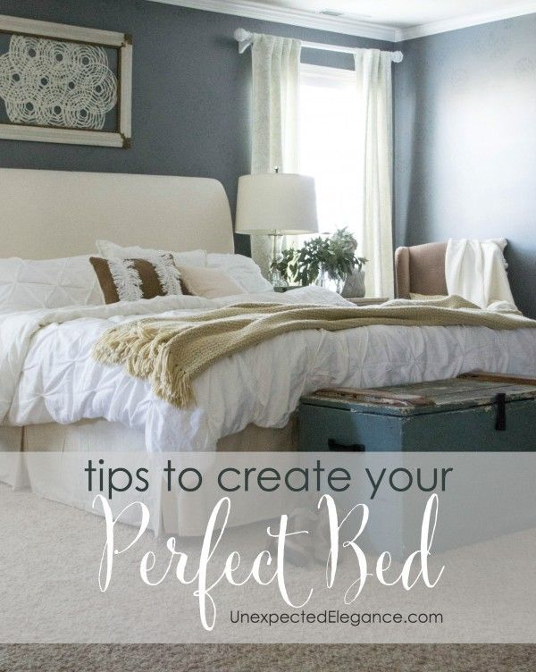 These Design Tips Will Help You Create Your Bedroom Oasis And The Most  Comfortable Bed!