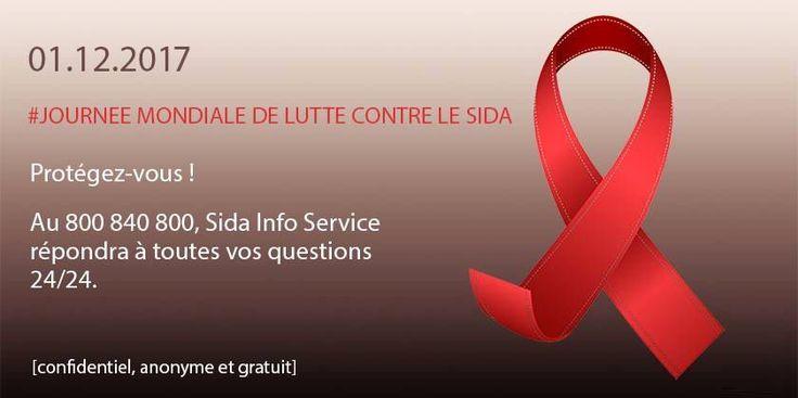 [JOURNÉE MONDIALE DE LUTTE CONTRE LE SIDA] Protégez-vous du SIDA et n'oubliez pas, le ministère de la santé lance une toute nouvelle campagne en faveur du dépistage. Une info à retrouver sur le site : https://www.sida-info-service.org/