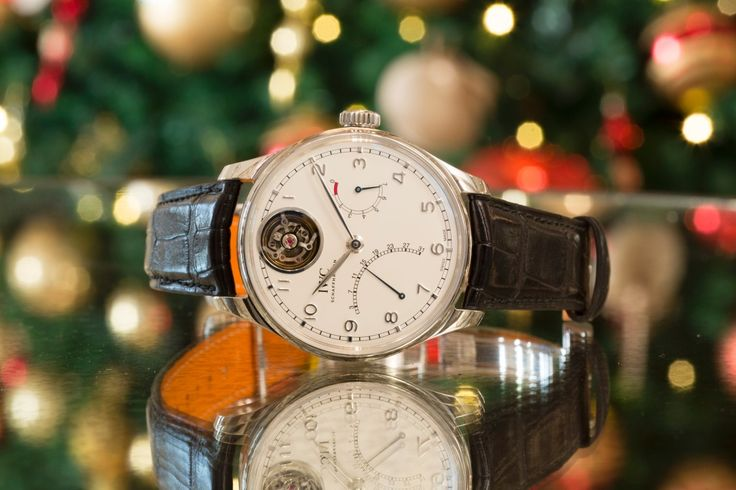 Ready for the Holiday Season with the IWC Portugieser Tourbillon Mystère Rétrograde. Add it to your wish list!