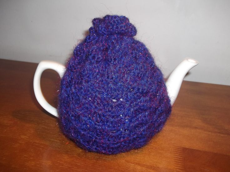 Fluffy Rose Teapot Cosy