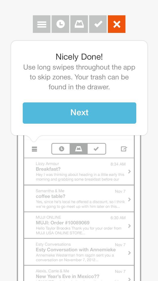 Walkthroughs Screenshots :: Mobile Patterns