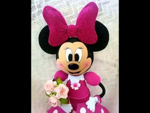 Minnie Mouse Fofucha Doll foamy doll