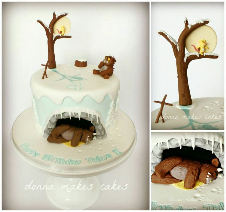 Beautiful Gruffalo's Child cake
