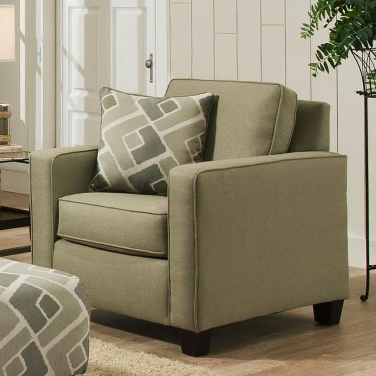 Albany Savvy Sage Twill Chair
