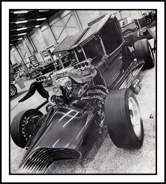 Custom Hot Rod Show Car, 1973 by Cosmo Lutz