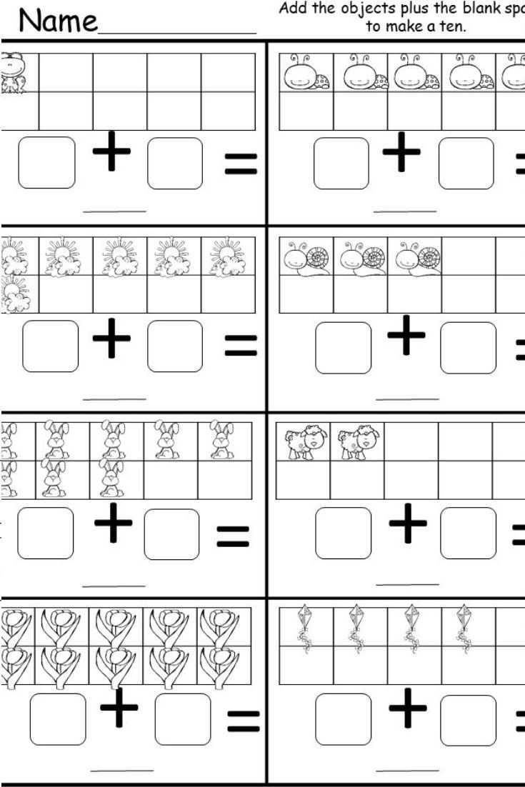 Free Kindergarten Addition Worksheet Kindermomma Com Kindergarten Addition Worksheets Addition Kindergarten Addition Worksheets Easy addition for kindergarten