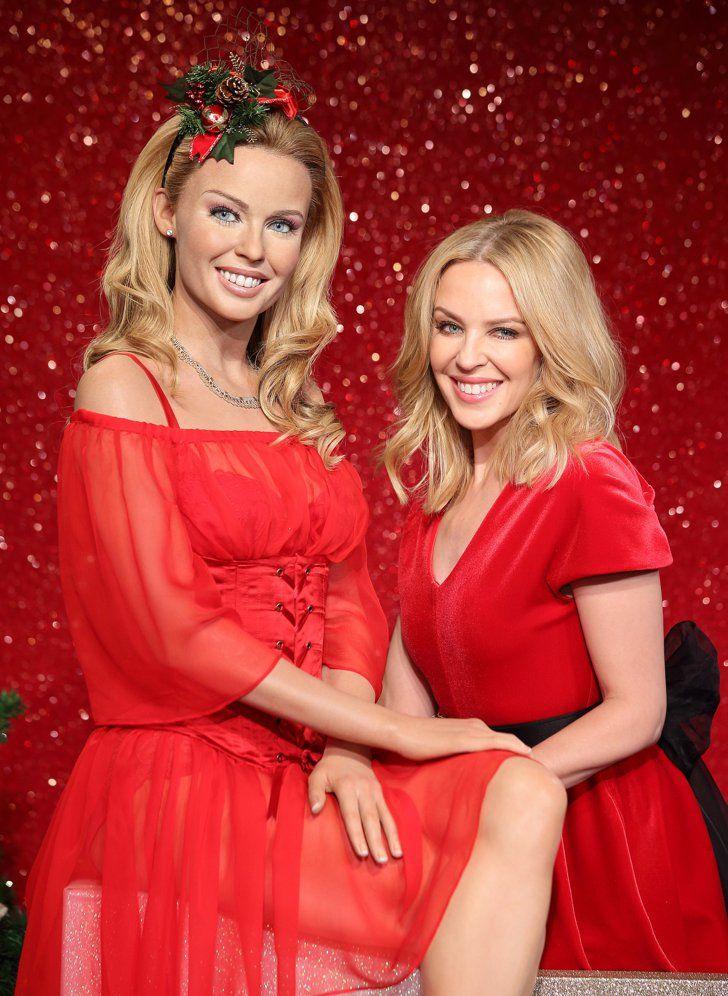 Diese Wachsfiguren-Doppelgänger sehen erschreckend echt aus Kylie Minogue