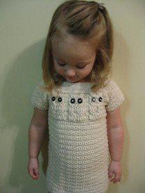Little Owl Sweater Dress - 5 Sizes