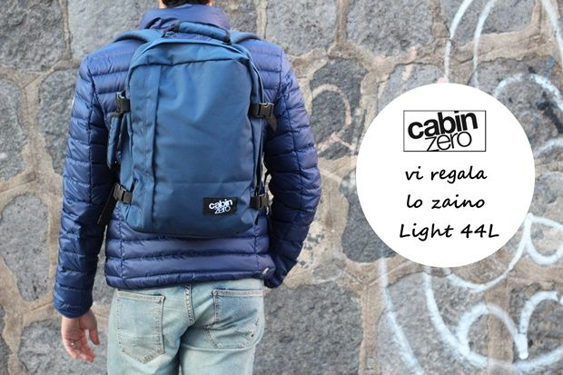 CabinZero vi regala lo zaino Classic 44L | The colours of my closet