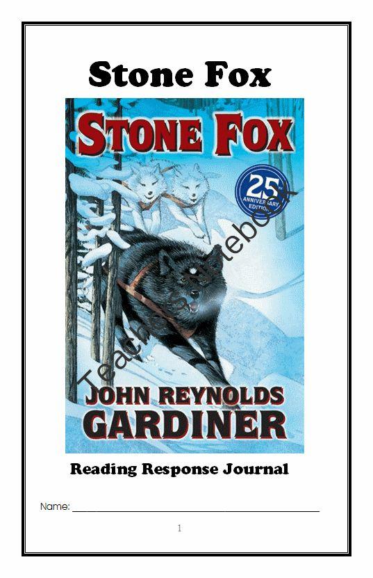 26 best Stone Fox Novel Study images on Pinterest | Stone ...