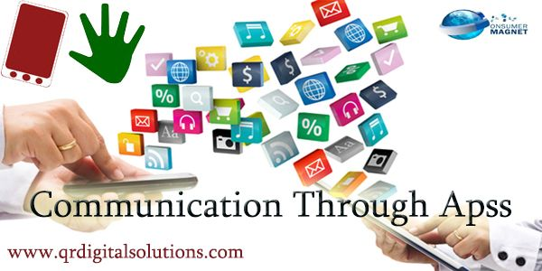 Real estate agents found that communication through the apps is cheaper & effective than any other means of advertisement.