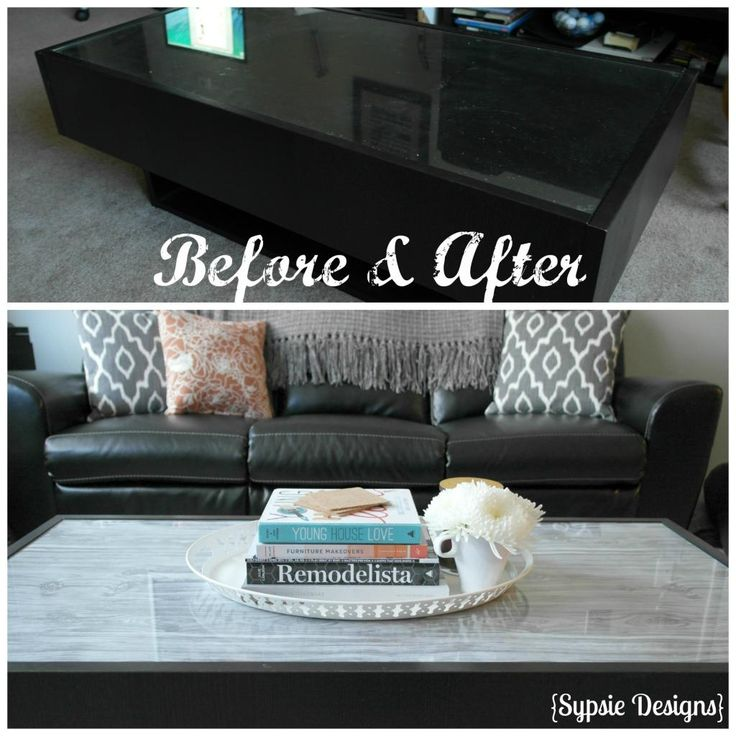 Coffee Table IKEA Makeover