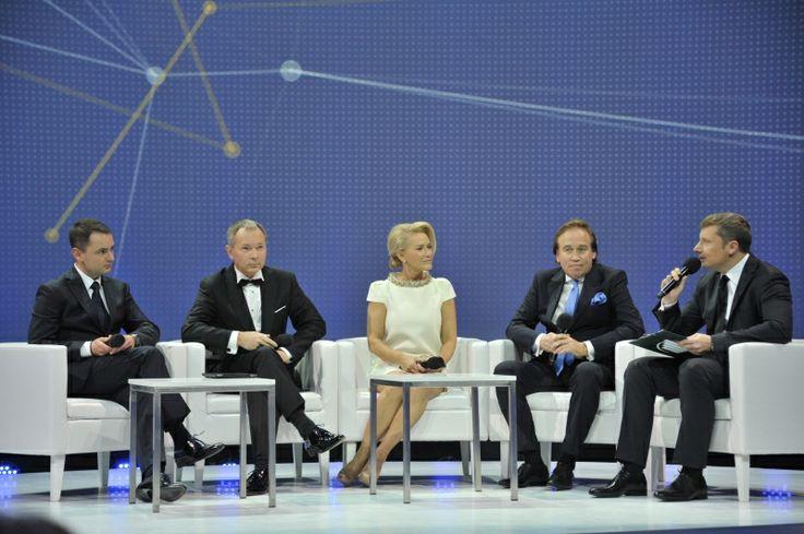 Debata w trakcie gali finałowej konkursu EY Przedsiębiorca Roku. EY Entrepreneur Of The Year 2013 Poland