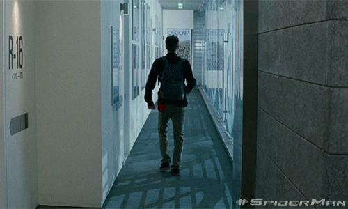 I  tried doing this when I came down the stairs one time- I failed, of course- but I instantly thought of this scene...XD
