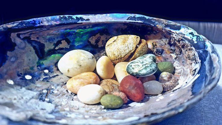 New Zealand stones.