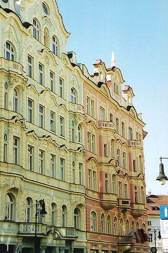 Praha: Josefov: Art Nouveau | by sftrajan