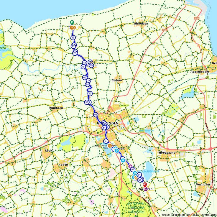 Fietsroute Pieterpad voor fietsers - de eerste drie etappes van het Pieterpad voor een gezellig dagje uit. (https://www.route.nl/fietsroute/537126/pieterpad-voor-fietsers-de-eerste-drie-etappes-van-het-pieterpad)