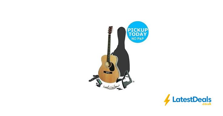 Martin Smith Acoustic Guitar Bundle, £49.99 at ebay