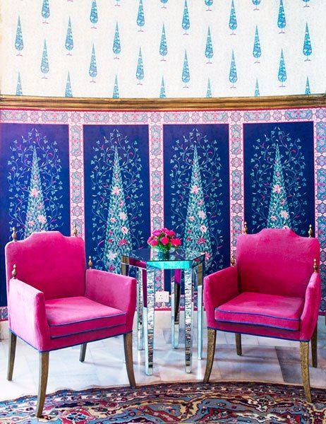 We visit Jaipur's dazzling Suján Rajmahal Palace hotel