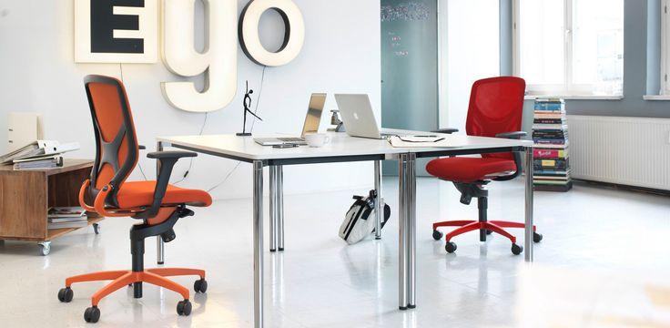 IN 3D Bürostuhl / ergonomischer Drehstuhl mit Trimension