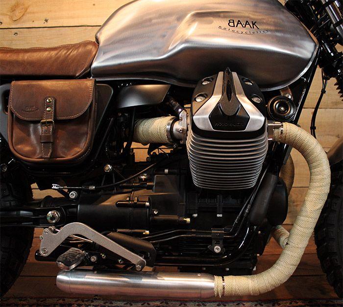 Moto Guzzi V7 custom engine                                                                                                                                                                                 More