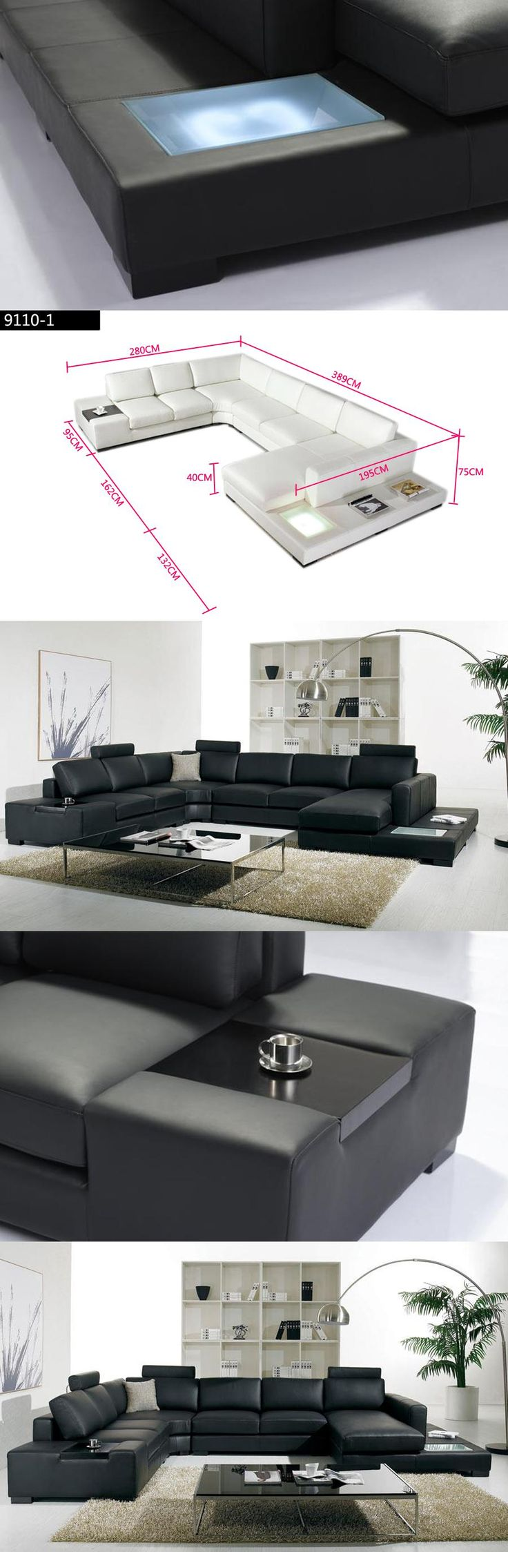 Best 25+ Black sofa set ideas on Pinterest | Black sofa, Black ...