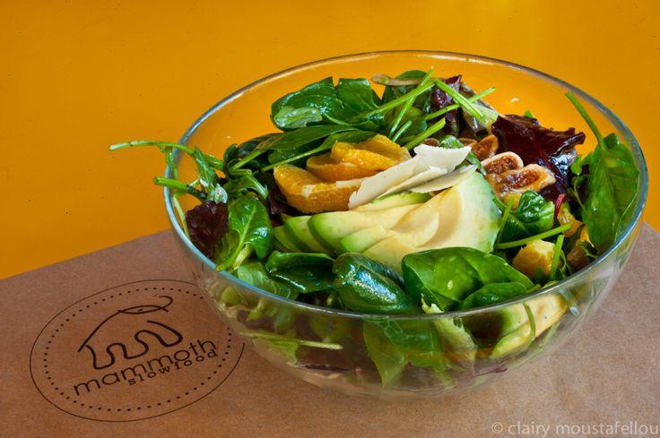 Avocado Salad @ mammoth-slow food  Restaurant in Athens Thetidos 1, Vrilissia